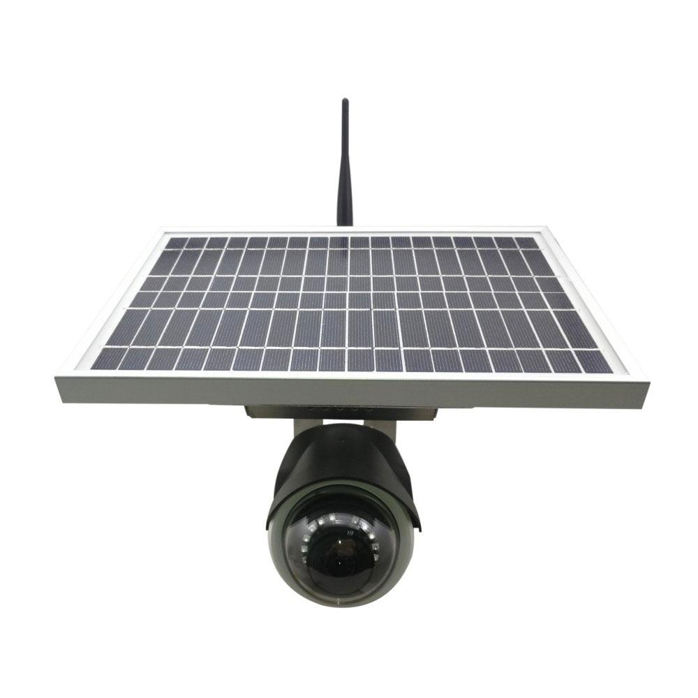 Słoneczne kamera IP wifi inteligentna bateria 1080P Night Vision zewnętrzna kamera wodoodporna