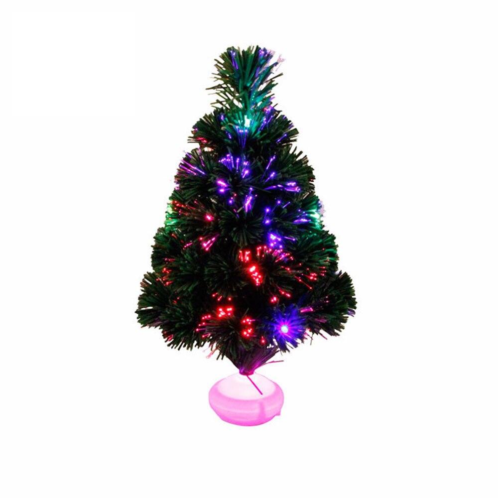 45cm LED Nachtlicht Weihnachten Baum Dekoration Licht Lampe Mini Weihnachten Baum Dekoration Für Home Weihnachten Dekorationen