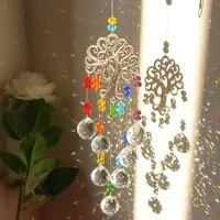 crystal sun light catcher hanging rainbow chaser lighting accessories garden window curtain wedding curtain home car decor gift