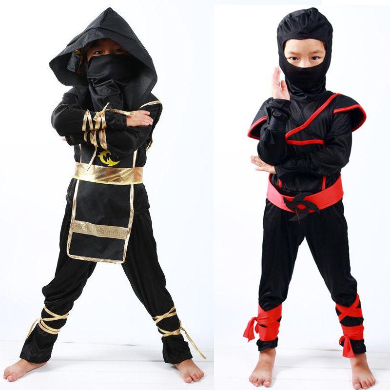 Ninja cosplay traje criança ninjago trajes de festa assassino guerreiro samurai japonês fantasia vestido cosplay ninja terno crianças roupas
