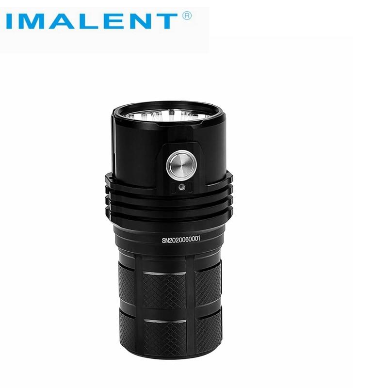 IMALENT MS06 25000 lumens flashlight CREE XHP70 2nd LEDs three rechargeable 4000mAh 21700 Li-ion batteries