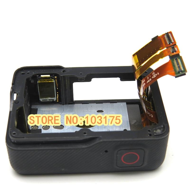شاشة LCD تعمل باللمس لـ GoPro Hero 5 ، أصلية 100% ، مع مبيت خلفي ، لإصلاح الكاميرا