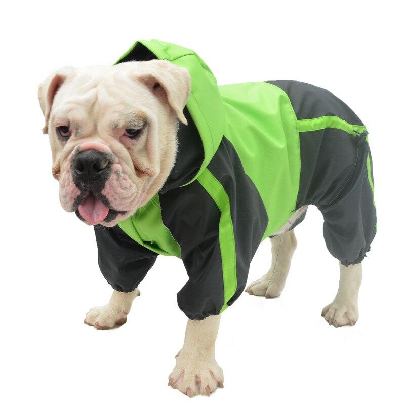 Одежда для домашних животных, дождевик для собаки, мопса, французского бульдога, водонепроницаемая одежда, бульдог, питбултерьер, американс...