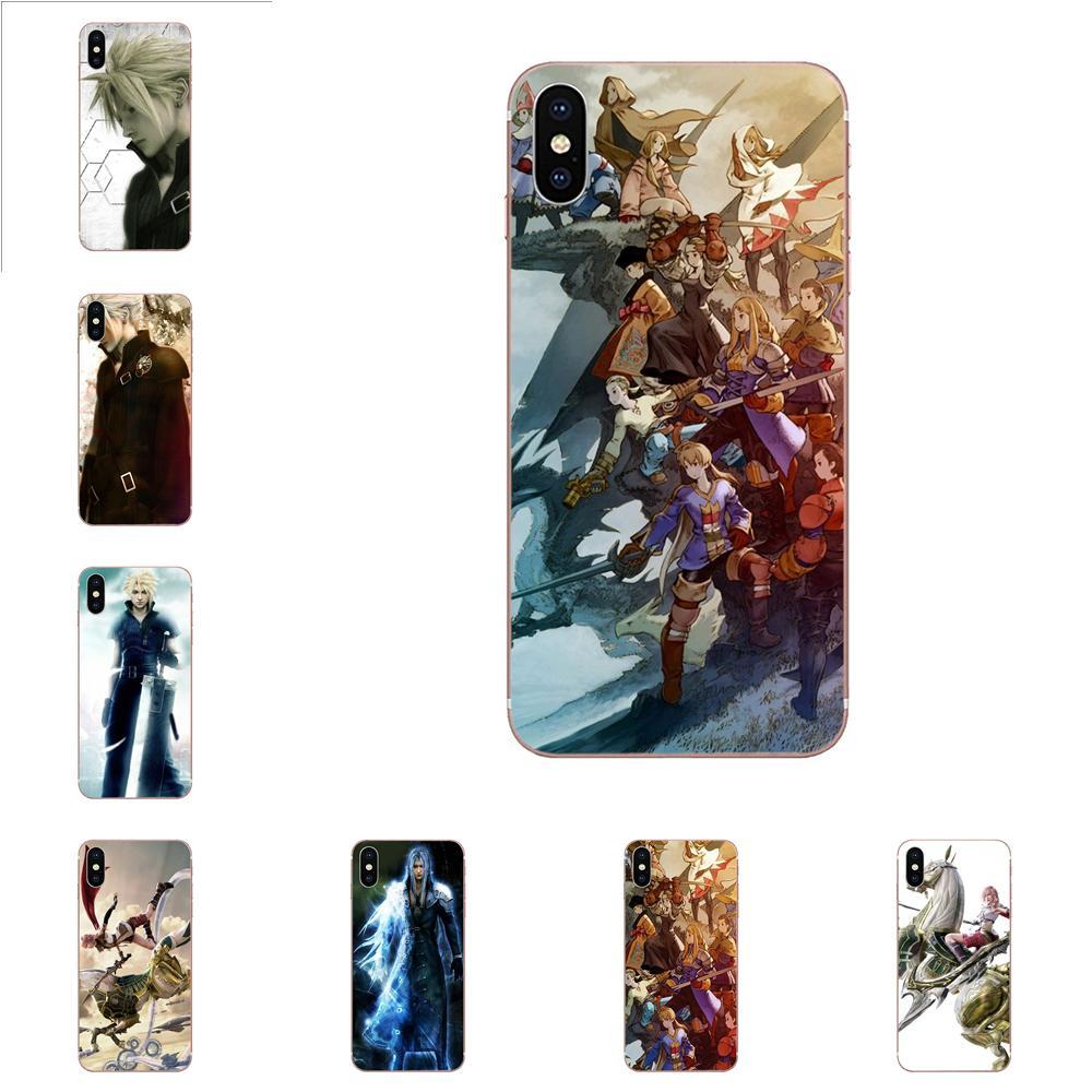 Protección suave funda para Huawei Honor 10 10i 20 20i 8S lite Y9 primer Y7 2019 Y5 2018 p40 lite pro Popular juego Final Fantasy Ix