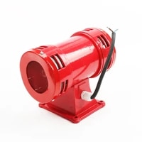 ms 490 ac 110v 220v 120db motor driven air raid siren metal horn double industry boat alarm