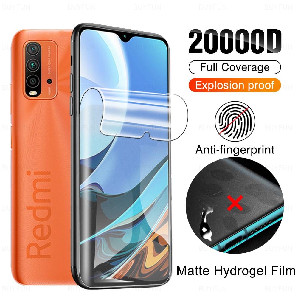 matte-anti-fingerprint-hydrogel-film-for-xiaomi-redmi-9t-9-t-9a-9c-redmi9-a-c-t9-screen-protector-not-protective-tempered-glass