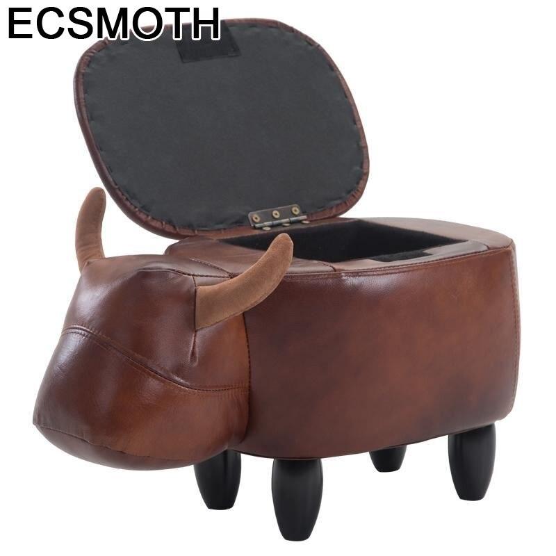 Tienda Plegable Madeira Escalera muebles modernos Sgabelli Mueble Vintage Taburet Cambio de...