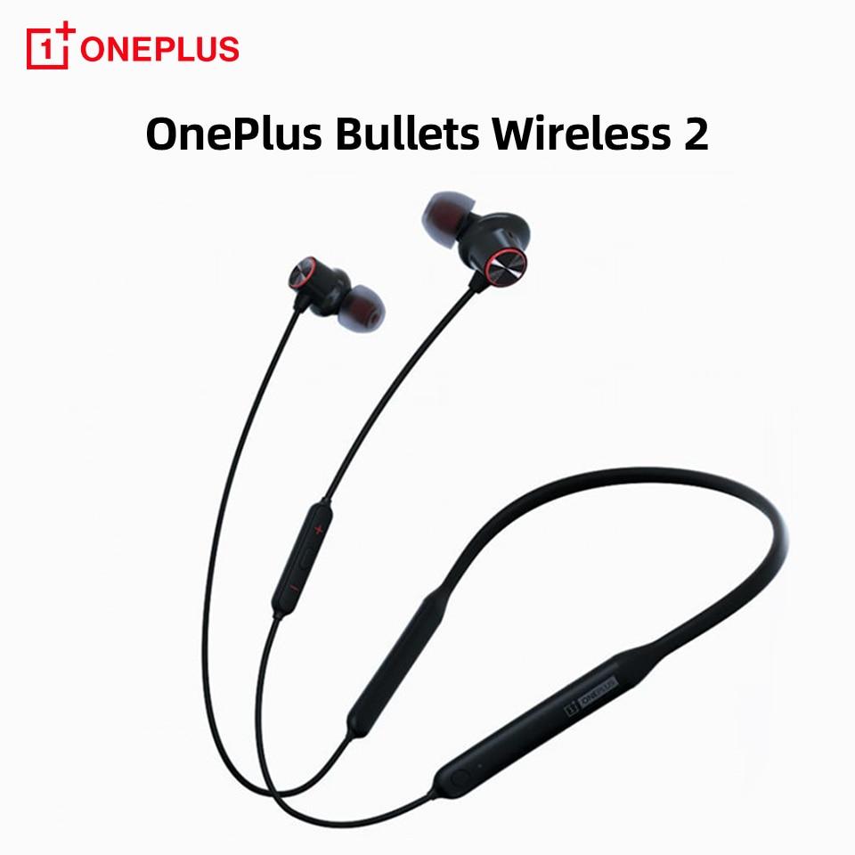 Balas sem Fio Fones de Ouvido Fone de Ouvido sem Fio Oneplus Bluetooth Urdidura Carga Rápida Original um Mais Balas z 2 hd
