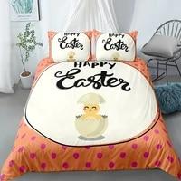 easter day bedding set for baby kids children eggs cute rabbit queen king size duvet cover set pillowcase queen size quilt cover