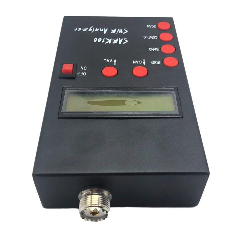 P82F 1-60 МГц анализатор антенны HF ANT SWR тестер стоячей волны для любительского радиоимпеданса емкость измерения