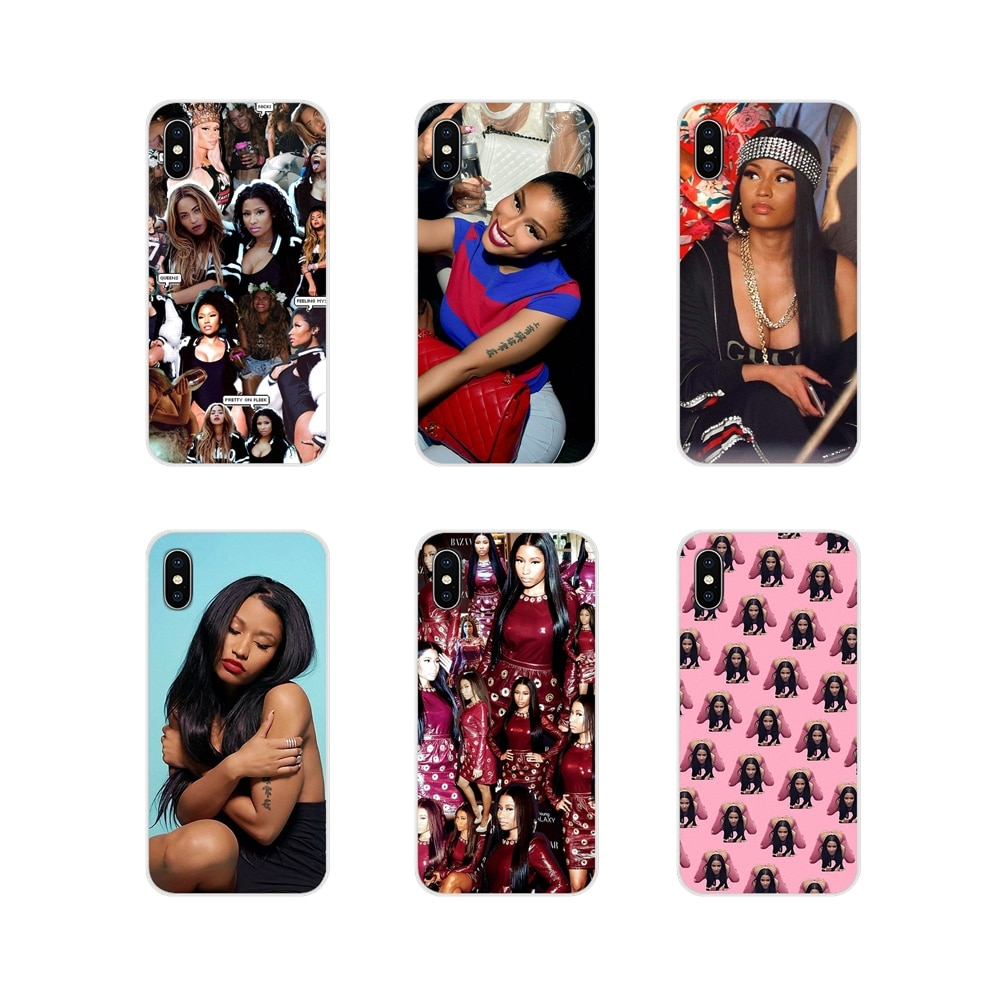 Para Xiaomi Redmi 4A S2 nota 3S 3S 4 4X4 5X5 6 Plus 7 6A Pro teléfono móvil F1 accesorios de la cáscara del teléfono cubre Nicki Minaj Hip Hop