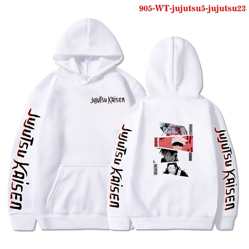 2021 Hot Sale Hoodies Jujutsu Kaisen Anime Hoodie Men Women Winter New Swearshirts Casual Streetwear Jujutsu Kaisen Men's Hoody