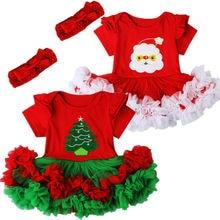 Robe Tutu pour nouveau-né, noël, en Tulle, pour noël, tenue de bal fantaisie, à manches courtes, 2020, nouvel an, Costume