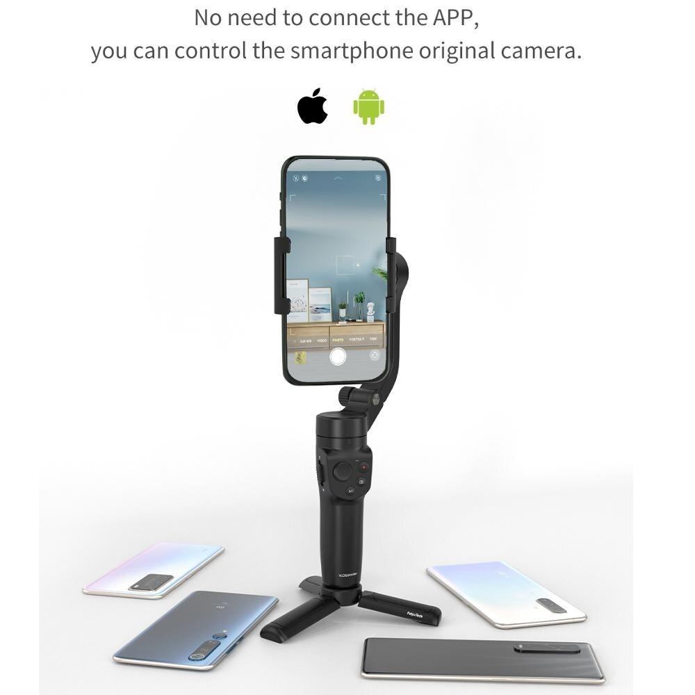 Promo Feiyu FeiyuTech Vlog Pocket 2 Mini  Handheld Smartphone Gimbal Stabilizer selfie stick for iPhone 11 XS XR HUAWEI pro Samsung