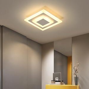 Ceiling Light Modern LED corridor Lamp For bathroom living room round square lighting Home Decorative Fixtures  WF930