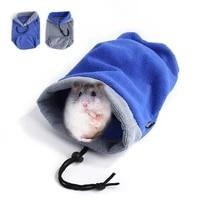 hamster squirrel ferret bath towel bag dry hair absorbent grey microfiber super absorbent pet drying bathrobe cloth accessories