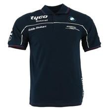 NEW 2020 TAS Racing Motorcycle Polo Shirt MotoG Team Motorrad Polo for BM Tyco Mens Short Motorbike Cotton T-shirts B