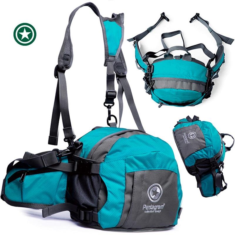 Альпинистский поясной рюкзак, спортивная поясная сумка, светильник, сумки для бега, альпинизма, велоспорта, рюкзак для пешего туризма, спорт...