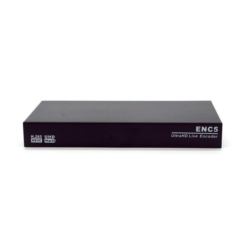 New 5 Channel 4K HDMI Encoder H.265 UHD Live Encoder HVEC RTMP SRT enlarge