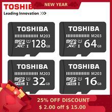 Carte mémoire dorigine TOSHIBA 128GB U1 64GB 256G SDXC max 100 M/s Micro carte SD SDHC-I 32GB 16G Class10 vérification officielle 8G