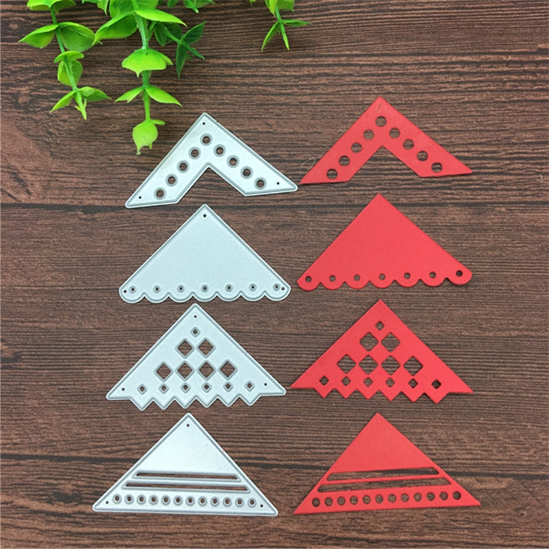 Flower Lace Angle Metal Cutting Dies Stencils Scrapbooking Decorative Embossing Folder Carbon Steel Paper Card DIY Die Cuts
