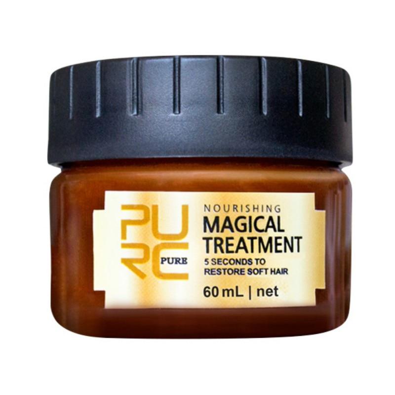 Tratamiento para el cabello de 60 ml, rápida restauración de cabello, suave,...