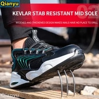 new 2021 safety boots mens steel toed shoes mens safety shoes puncture proof work sports shoes breathable work shoes