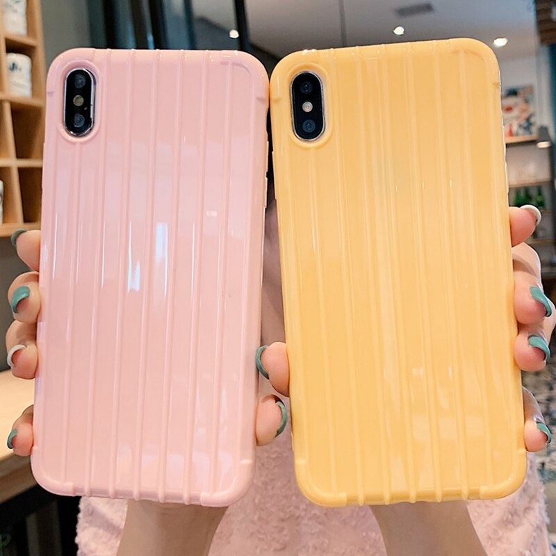 for Xiaomi Mi 8 9 SE 9t A2 A3 Lite Redmi Note 5 7 Pro Cute Candy Trunk Silicone Case Xiomi Redmi 5 6 6a K20 Go Cover Coque Etui