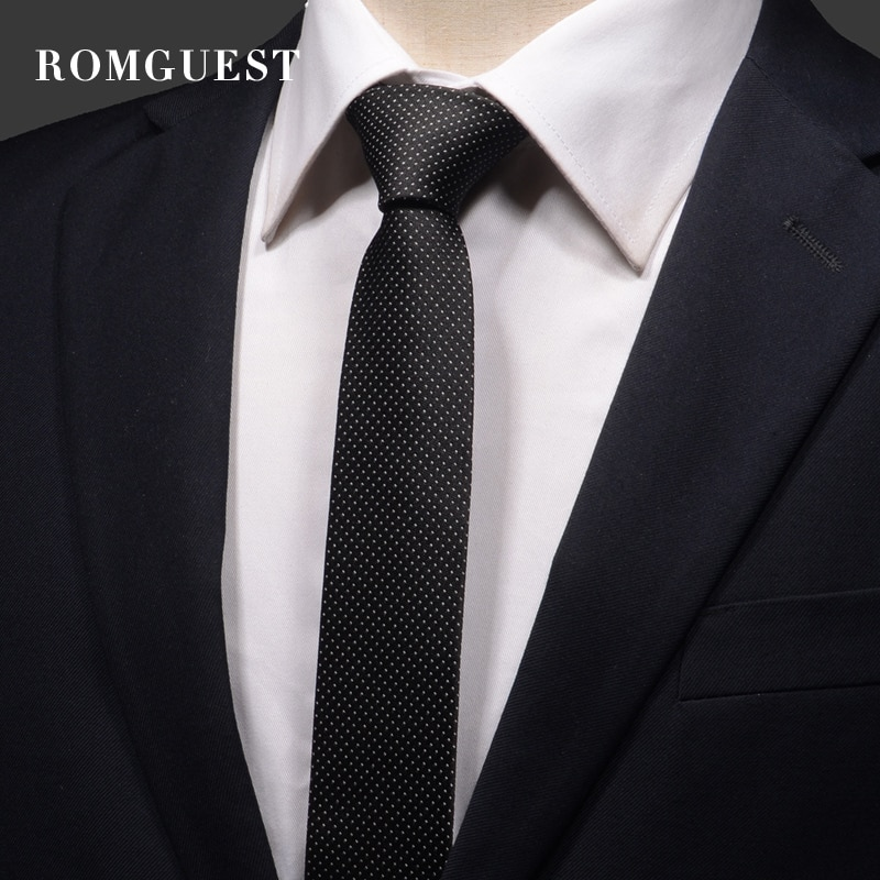 2020 Brand New Fashion High Quality Men's Classic 5cm Slim Necktie Formal Business Houndstooth Neck Tie for Men with Gift Box