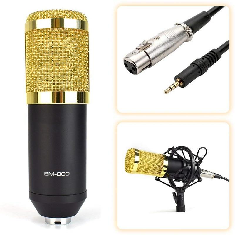 BM 800 karaoke microphone BM800 studio condenser mikrofon mic bm-800 For KTV Radio Braodcasting Singing Recording computer enlarge