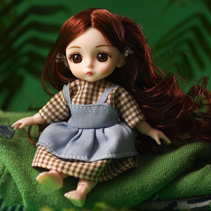 Caja de regalo, muñeca articulada reemplazable SD, muñeca de princesa de 16cm, muñeca de simulación para niña, muñeca BJD, juguetes para niños para niñas