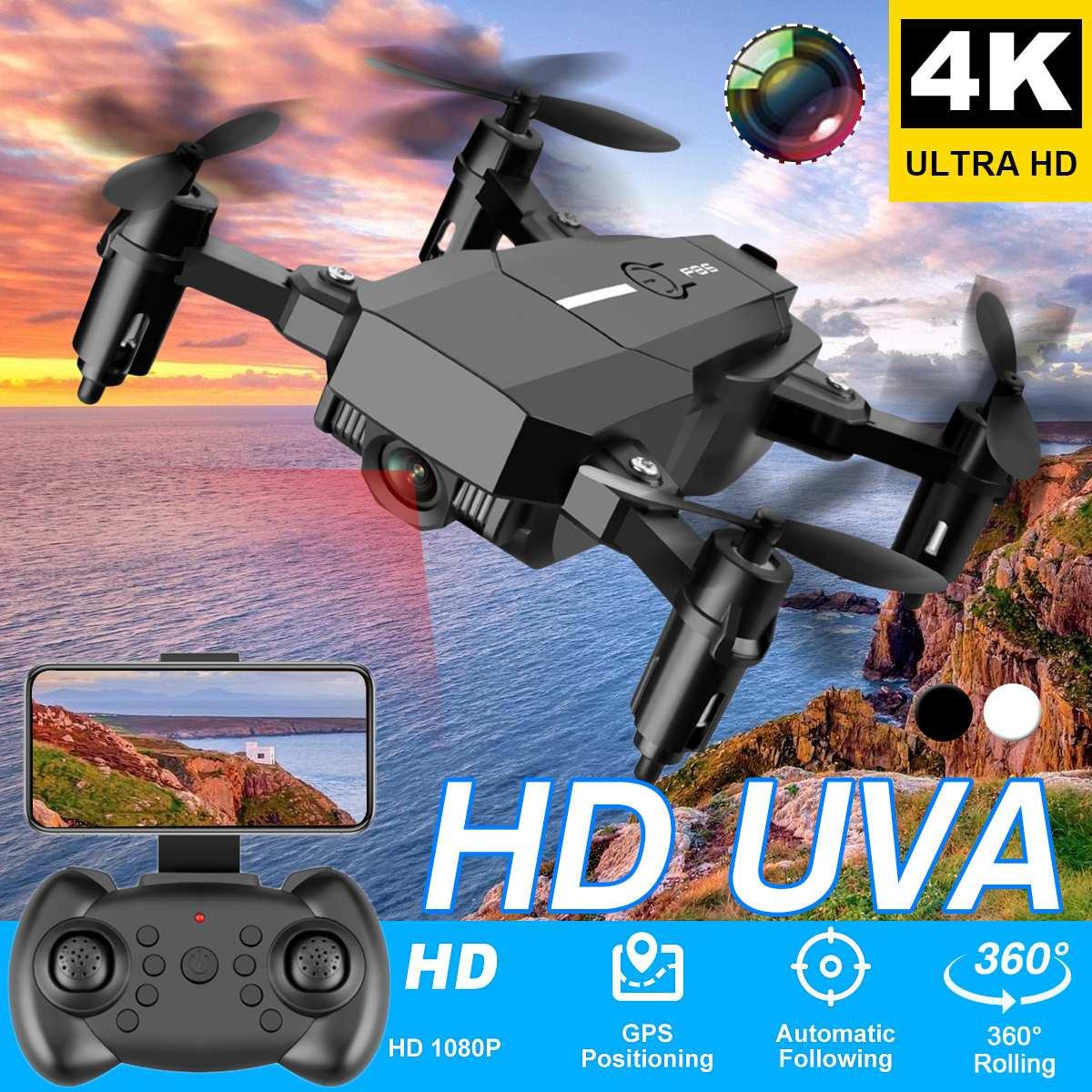 Dron WiFi con cámara HD, WIFI, 30W/500W, cámara plegable, Mini Dron Fpv profesional, juguete de larga duración de la batería para regalo