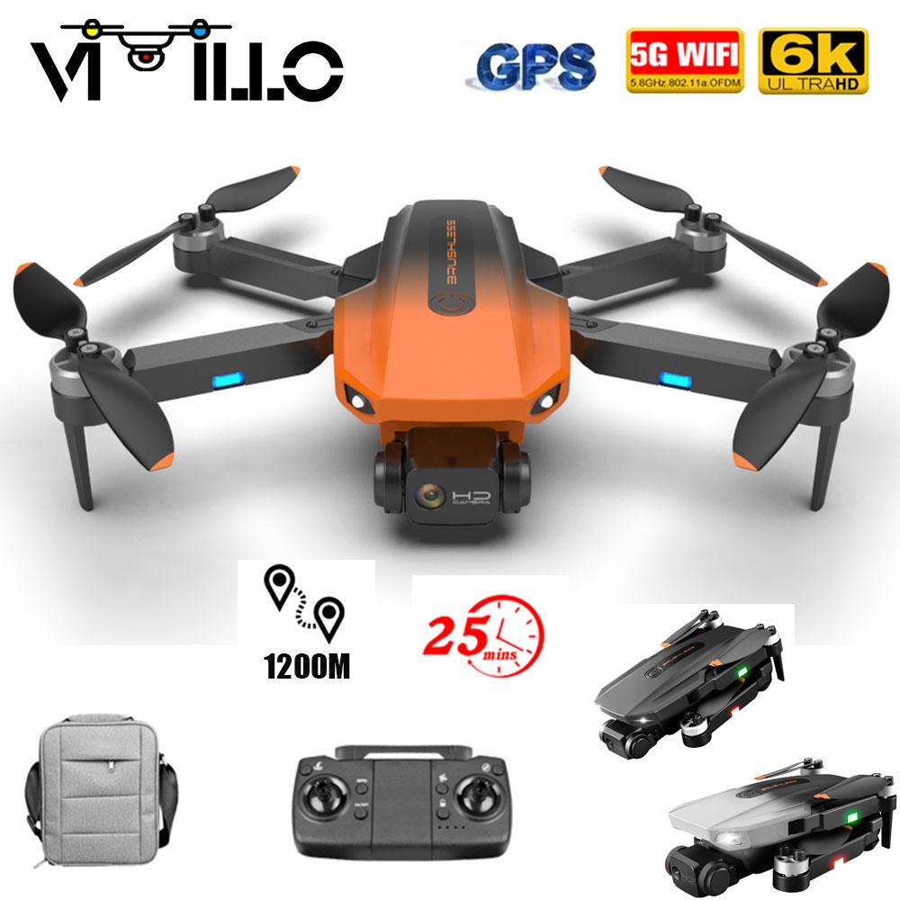 Vimillo RG101 GPS الطائرة بدون طيار 6K HD كاميرا المهنية 5G واي فاي FPV درون التصوير الجوي فرش السيارات طوي كوادكوبتر 1200 متر