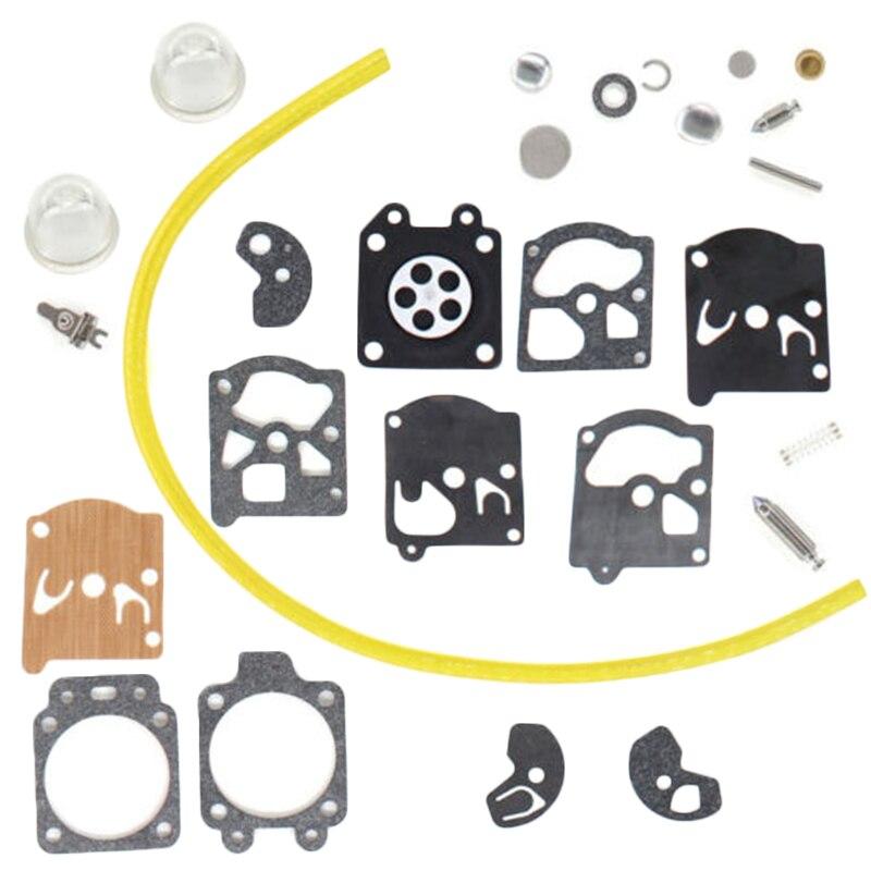 Kit de diafragma de reparación de carburador para Walbro/Stihl 009AV 010AV 011AV 011AV 020AV piezas de motosierra accesorios de equipo eléctrico
