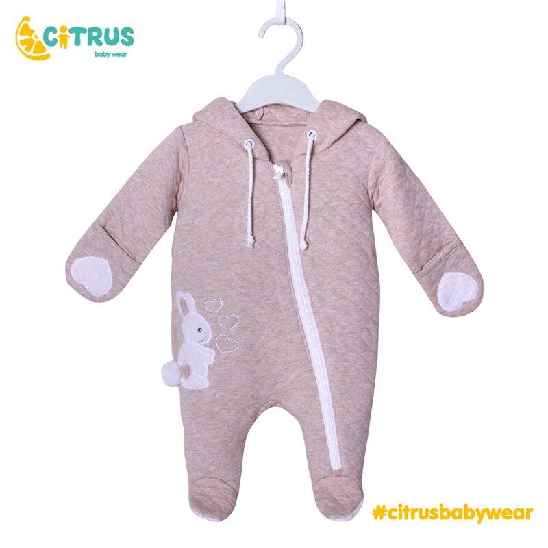 CITRUS Baby Mädchen Jungen Kleidung 100% Baumwolle Romper Kostüm 3 6 9 12 Monate Neugeborene Baby Romper Kinder Kleidung Für mädchen Jungen