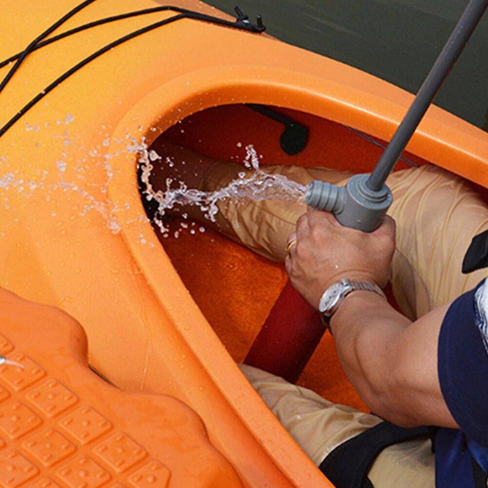 46 см каяк ручной насос каноэ плавающей Ручной откачивающий насос катера для байдарки на байдарках и аварийно-спасательных