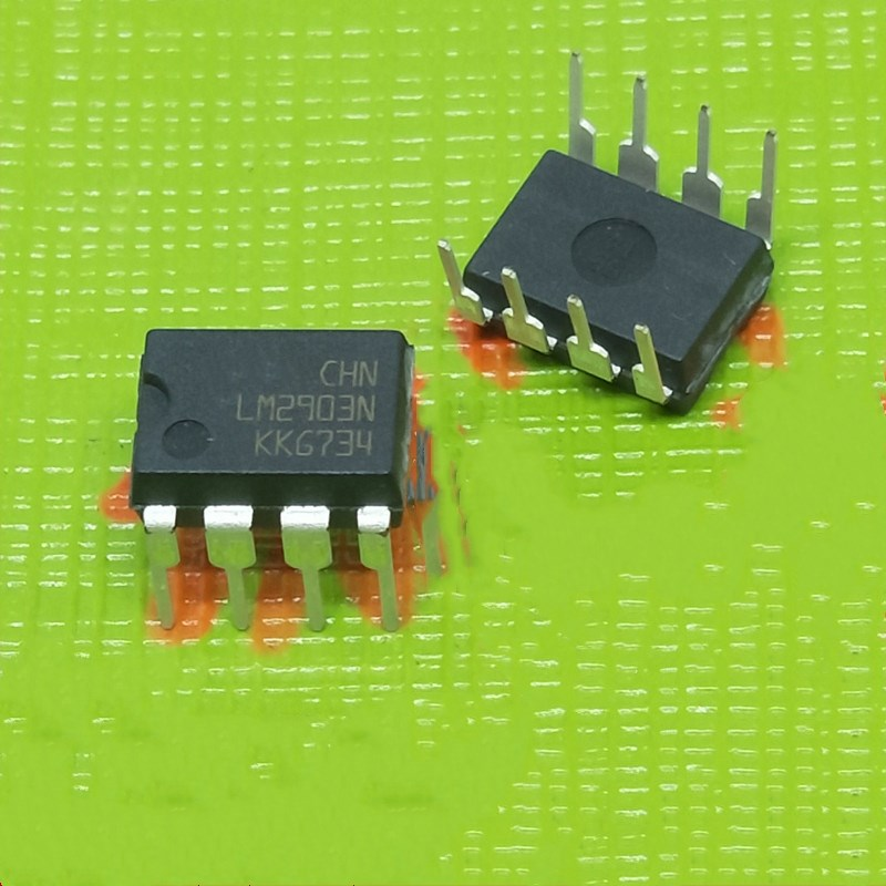 10pcs/lot LM2903N LM2903P LM2903 DIP-8 In Stock