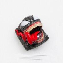 1pc diable Venom personnalité résine keycap pour MX commutateur personnalisé clavier mécanique manuel peinture clé cap R4 ESC keycaps
