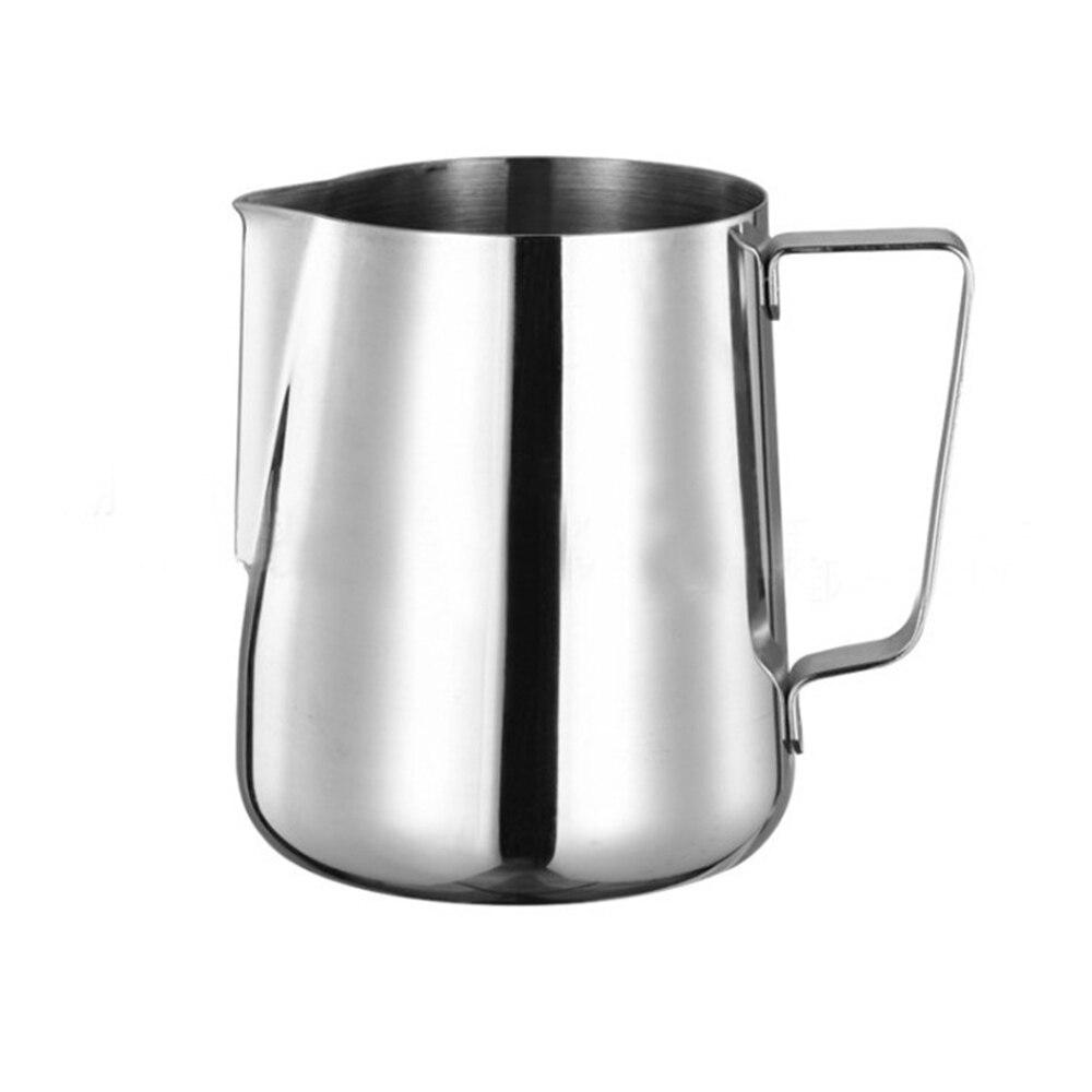 Cafetière inox lait mousseur cruche cafetière bouilloire café grande capacité manuel Cafetiere conteneurs à café