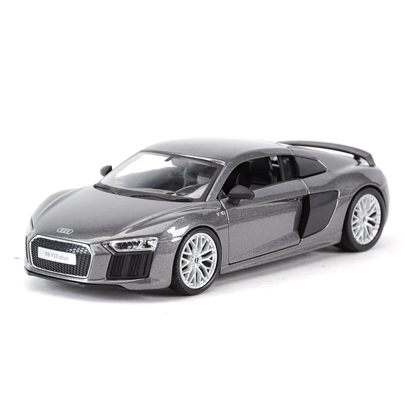 Фото - Maisto 1:24 Audi R8 V10 Plus Sports Car Static Die Cast Vehicles Collectible Model Car Toys bburago 1 24 audi rs5 coupe sports car static die cast vehicles collectible model car toys