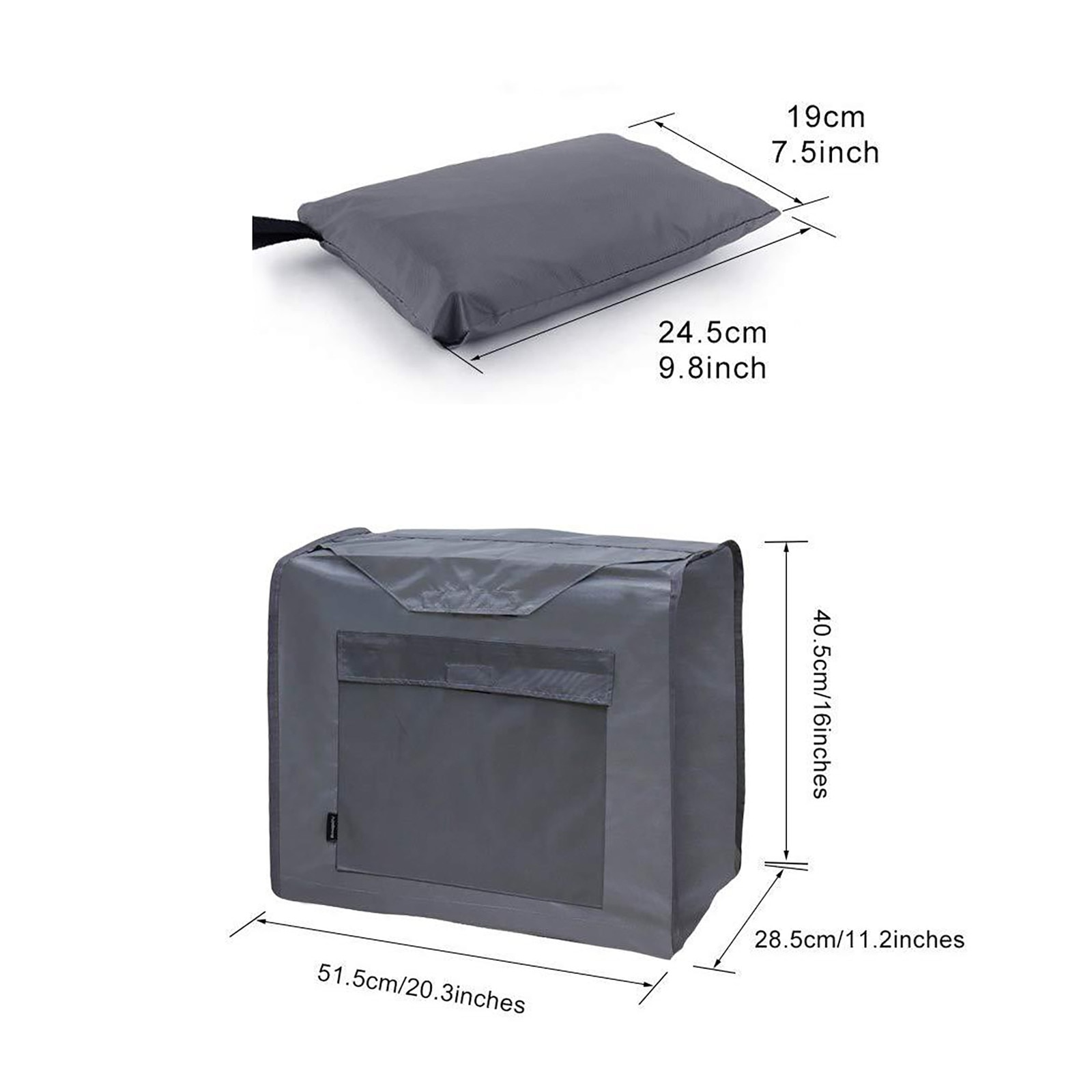 Outdoor Household Generator Rainproof Windproof And Snowproof Cover Universal Generator Cover for Most Generator 5000 to 10000W enlarge