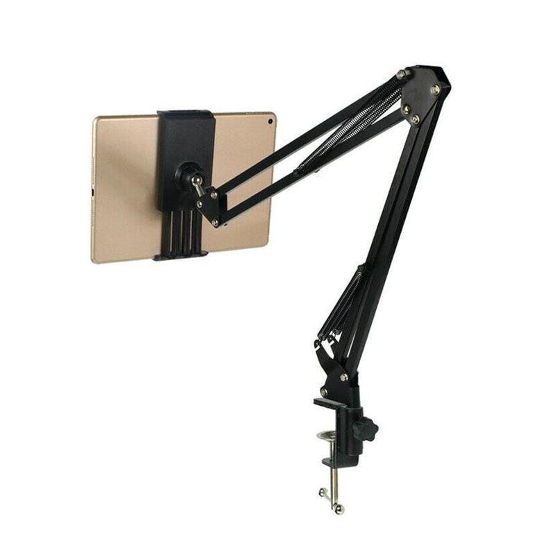 Soporte ajustable para tableta para teléfono móvil, perezoso, viendo TV, soporte multifuncional para tableta y teléfono de sobremesa