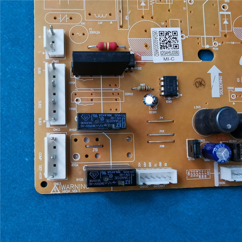 Good-working For  Refrigerator computer board power module DA41-00800A DA92-00346D Inverter main board enlarge