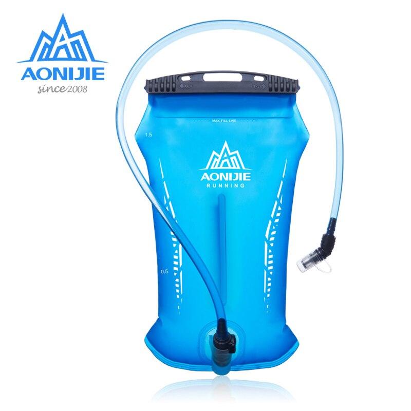 AONIJIE Hydration Pack Water Reservoir Water Bladder Storage Bag BPA Free Running Hiking Hydration Vest Backpack 1.5L 2L