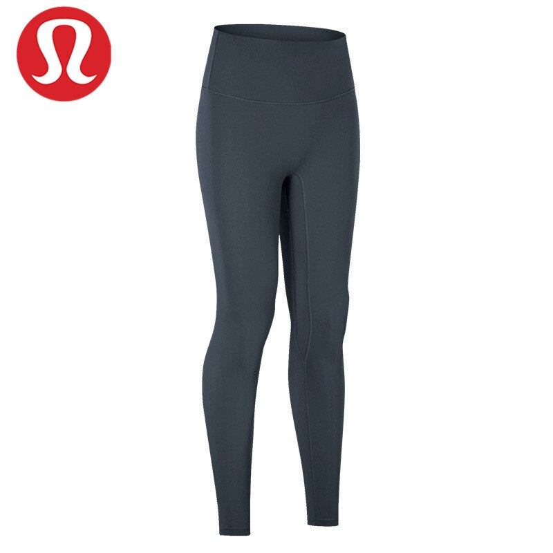 LULU-pantalones de Yoga invisibles sin línea en T para mujer, pantalones recortados...