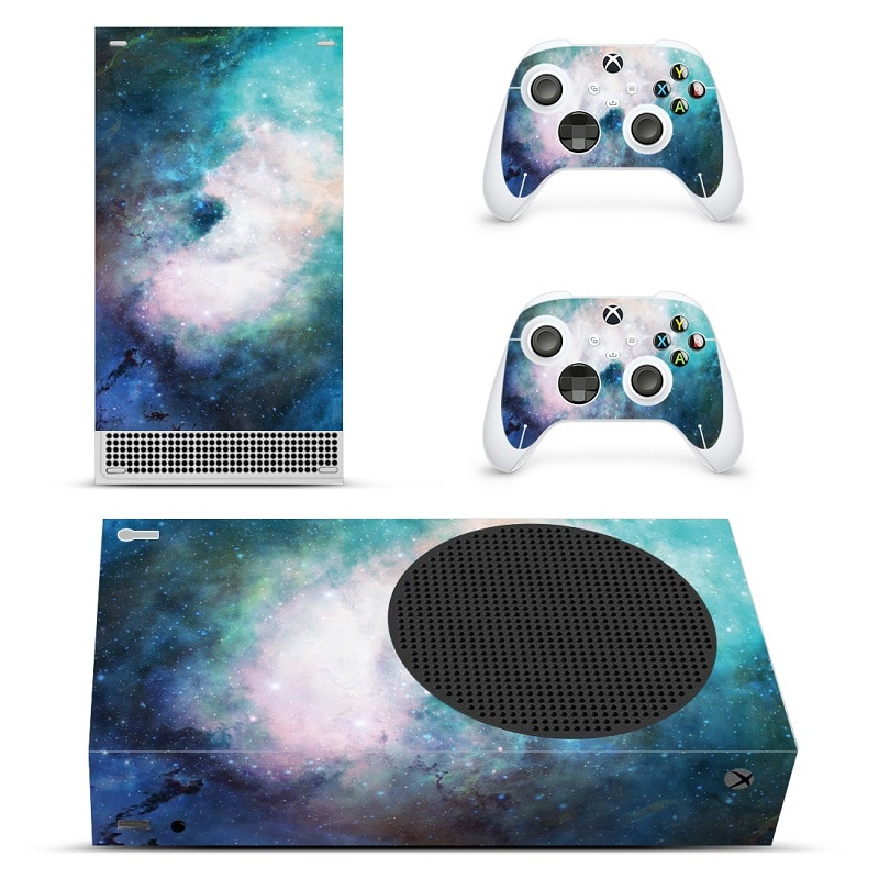 Camo Design For Xbox Series S Decal Skin Sticker Cover For Xbox Series S Console and 2 Controllers enlarge