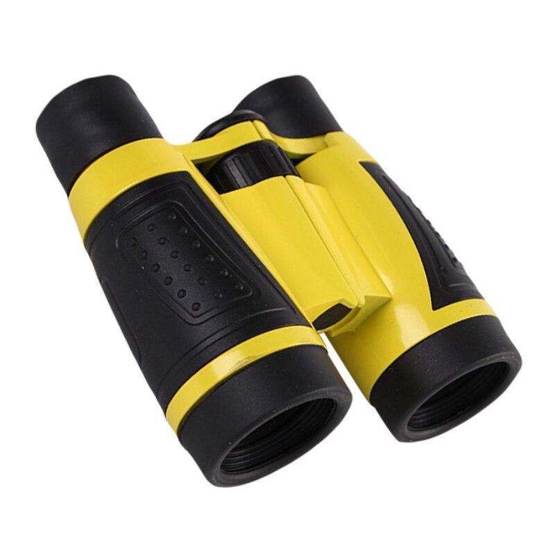 Nuevo mango Antisip de alta resolución para niños y niñas binoculares de observación al aire libre para niños calientes binoculares telescopio de juguete de goma