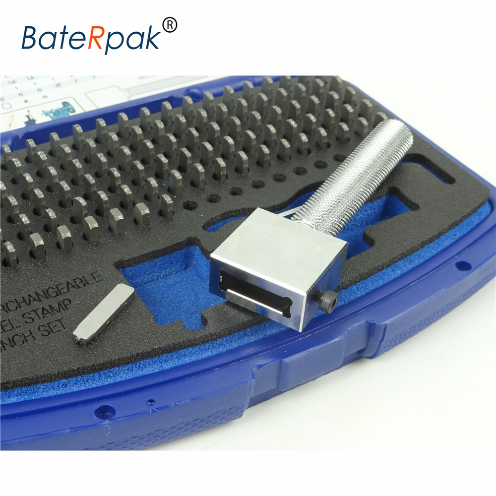 P-112 Interchangeable Steel stamp punch set,Stroke Felxible stamping letters,Available size 2/2.5/3/4/5/6mm