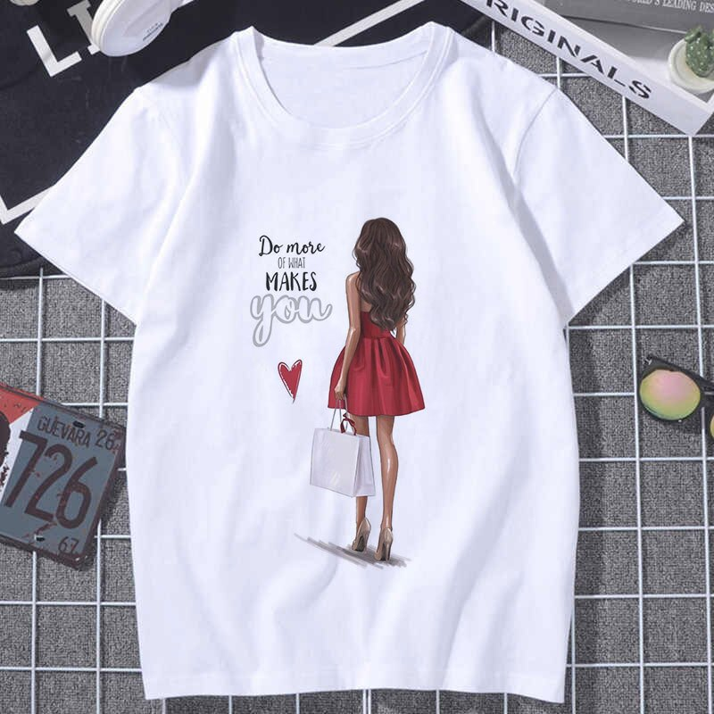 Czccwd verão topos para mulher 2019 harajuku estético seção fina t camisa do que faz você feliz tshirt moda camiseta