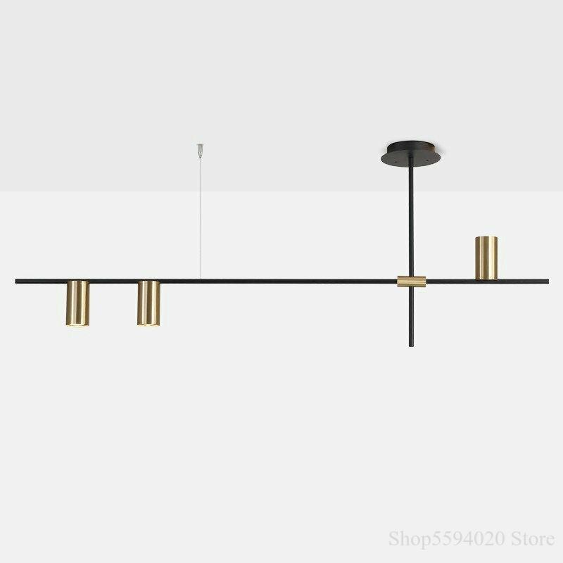مصباح السقف المعلق بتصميم الشمال ، تصميم حديث بسيط ، إضاءة داخلية ، إضاءة سقف مزخرفة ، مثالية لغرفة الطعام ، اللون أسود